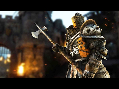 For Honor: 6 Minutes of Lawbringer Gameplay (1080p 60fps)
