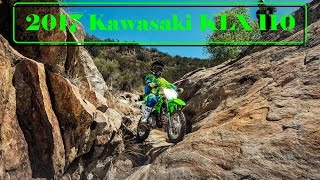 9. The New 2017 Kawasaki KLX 110 : A Versatile Off-Road Bike With a Low Seat Height