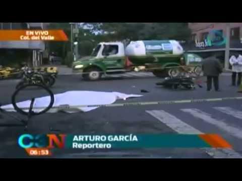 Muere policía en accidente vial en Colonia del Valle