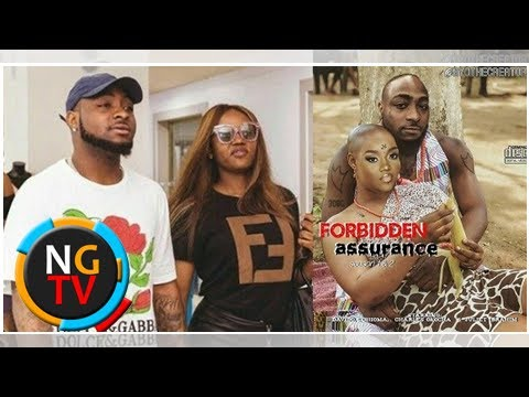 Davido And Chioma Stun On The Cover New Nollywood Movie, Forbidden Assurance 😂
