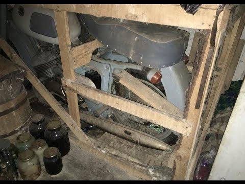 , title : '43 года в кладовке: новый ИЖ Юпитер-3 1973 в заводском ящике'