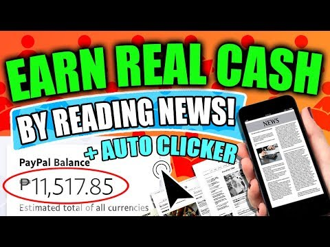 Unlimited $0.50 USD! Earn REAL CASH by reading news!