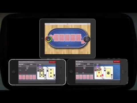 iPad Multiplayer Texas Holdem Tournament Poker on iPhones