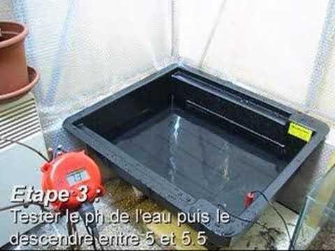 comment construire hydroponique