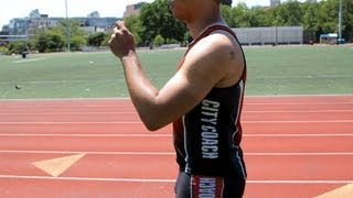 How To Have Proper Upper Body Running Posture | Sprinting
