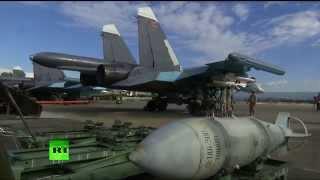 Впервые за время операции в Сирии Су-34 оснащен ракетами класса «воздух-воздух»