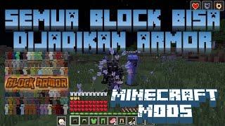 """Download Video """"SEMUA BLOCK BISA DIJADIKAN ARMOR"""" Minecraft Seru #19 MP3 3GP MP4"""
