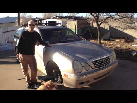 How to: Remove a 2001 E320 Mercedes Benz (W210)  security alarm siren