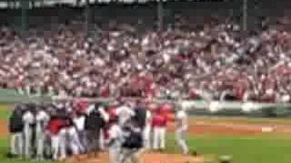 Boston Red Sox/Tampa Bay Rays Fight