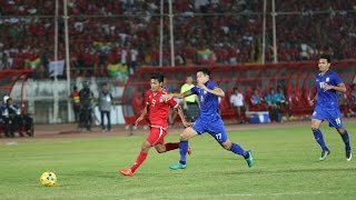 Video Aung Thu vsThailand AFF Suzuki Cup Semi final First leg AFF Suzuki Cup 2016 HD MP3, 3GP, MP4, WEBM, AVI, FLV Januari 2018