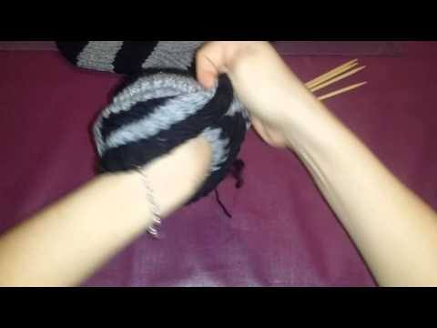 Socken stricken für anfänger teil 10 schluss