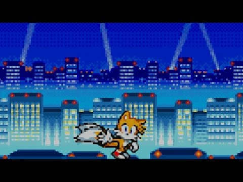 Sonic Advance 2 - Part 4 - Ice Paradise Zone - Aero Egg - Special Stage 4
