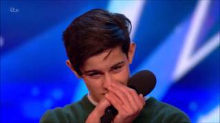 Video Singer Reuben Grey Sings To Girlfriend Gets SHOCKED! | Auditions 2 | Britain's Got Talent 2017 MP3, 3GP, MP4, WEBM, AVI, FLV Juni 2019