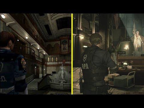 В Сети появился видеоролик-сравнение оригинала и ремейка Resident Evil 2