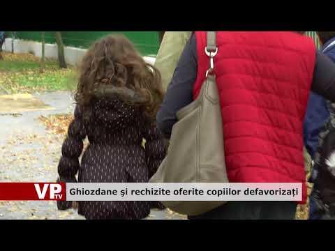 Ghiozdane şi rechizite oferite copiilor defavorizați