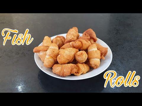 How to make Fish Rolls | Rouleaux de Poisson