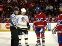 Laraque goading Lucic.MPG