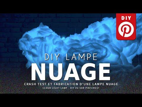 CRASH TEST : créer une Lampe Nuage (Pinterest DIY)