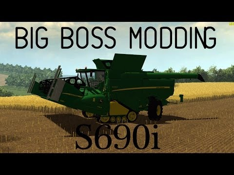 Big Boss Modding - John Deere S690i