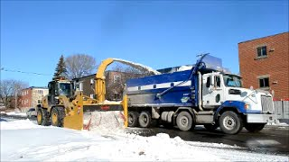 Laval (QC) Canada  city photos gallery : SNOW REMOVAL OPERATION IN LAVAL QUEBEC