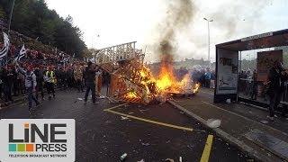 Quimper France  city photo : Bonnets Rouges violents affrontements manifestation Ecotaxe / Quimper - France 02 novembre 2013