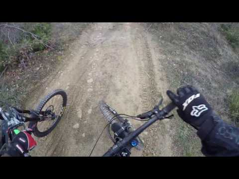 Gara Me Bicikleta Downhill Theranda 2016 Bllace Kosova Course Preview