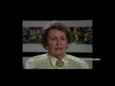 ניצולת שואה מנדבורנה שבפולין, מספרת על טיולים וחינוך, שפה ותרבות, לפני השואה