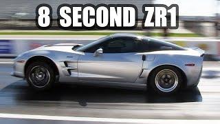 8 Second Street Car - C6 ZR1 Corvette by High Tech Corvette