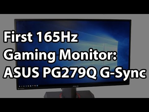 ASUS ROG Swift PG279Q 165Hz 2560x1440 27-in IPS G-Sync Monitor Review