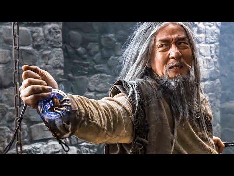 Jackie Chan vs Arnold Schwarzenegger Prison Escape Scene - THE IRON MASK (2020) Movie Clip
