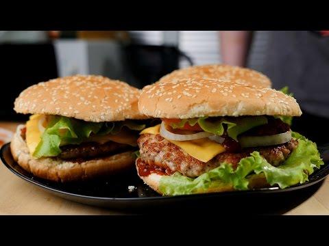 Гамбургер вкусный фото