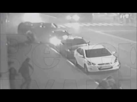 Видео с третьей камеры. ДТП на ул. Сумской в Харькове 18 октября 2017 года. Всё выглядит по другому с этого ракур...