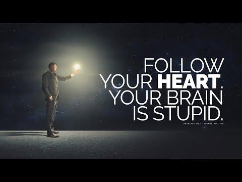 Sluchaj swojego SERCA, nie UMYSŁU ! proste wytluczenie w filmie