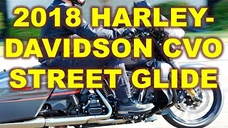 8. 2018 Harley-Davidson CVO Street Glide, Higher displacement and more watts-per-channel