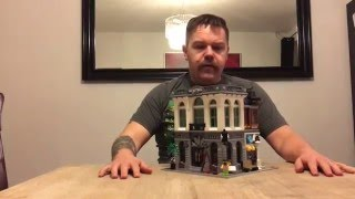 LEGO Creator Expert 10251 Brick Bank,  Unboxing and Time lapse build