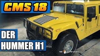Auto-Werkstatt Simulator 2018 #120 -Der Hummer H1! - CMS18 Deutsch