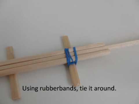 How to make a Rubberband Gun