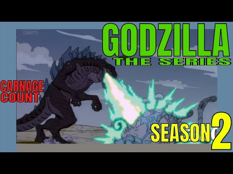 Godzilla: The Series | Season Two (1999) Carnage Count