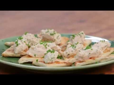 Naan Bread Canape – Mission Fast Fact | Everyday Gourmet S6 E80