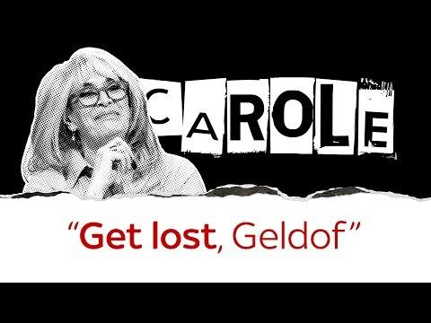 Carole tells political celebs to