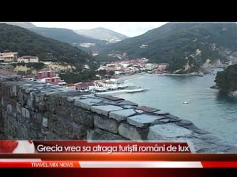 Grecia vrea sa atraga turistii romani de lux incepand din acest an