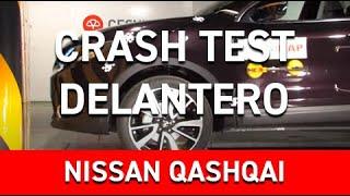 Crash Test delantero Nissan Qashqai en Cesvimap
