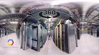Vídeo 360, visita el centro de datos de Google en Dallas, Oregón.