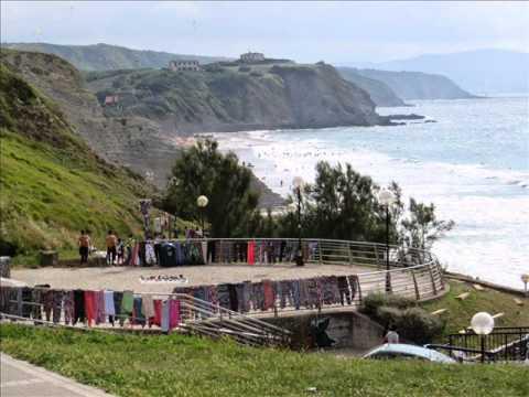 Playa de Sopelana (Arrietara) y Salvaje (Brinatxe) en Vizcaya