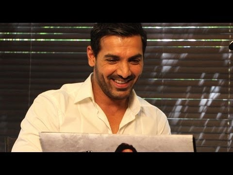 John Abraham Video Chats With Fans