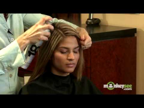 Prom Hairstyles – Straight Look