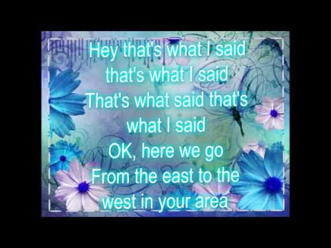 What I Said~ Coco Jones, Lyrics