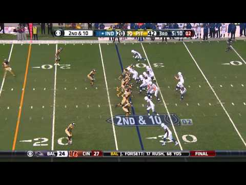 Donte Moncrief goes hammer on the Steelers