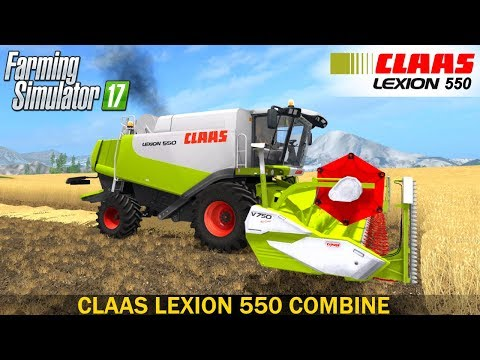 CLAAS LEXION 550 FULL PACK v1.4.4