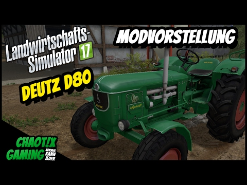 Deutz D80 v1.4.0 Tire configuration
